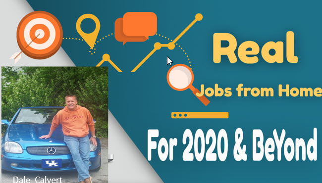 Real Work at Home Jobs for 2020 and Beyond